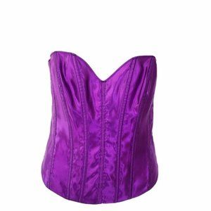Tesa by Escante (36) Purple Push Up Corset Bustier